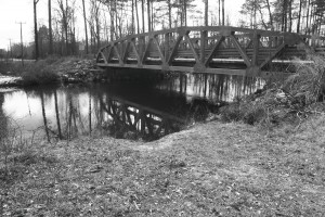 Site of Stuart's bridge rebuilding to cross Chickahominy River. photo by Randall flynn