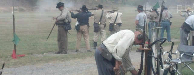 Visit to North-South Skirmish Association Competition at Ft. Shenandoah