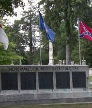 Confederate Monument at Elmwood Cemetery, Shepherdstown WV