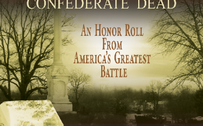 "Edit finished on ""Gettysburg's Confederate Dead"""