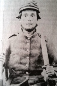 Pvt John Rigby, Company D, 35th Georgia Infantry Regiment. Died at Elmira [NY] Federal Priosn Camp, May 1865