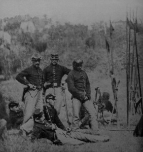 6th Pennsylvania Cavalrymen commanded by Colonel Richard Rush. Known as Rush's Lancers