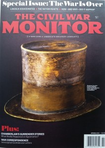 The Civil War Monitor, Spring 2015 with recommendation for The Confederate Alamo by John Fox