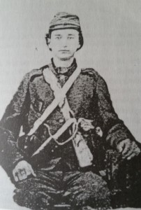 Pvt. Frank Edwards, Co. D, 35th Georgia Infantry Regiment