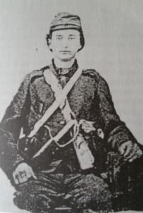 Pvt. Frank Edwards, Co. D, 35th Georgia Infantry Regiment