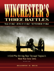 Winchester's Three Battles front cover
