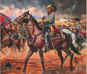 "Jeb Stuart Secedes Against ""Lincoln's diabolical government"""